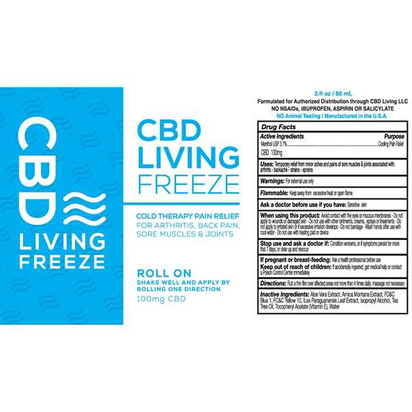 CBD Living Freeze Roll On