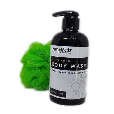 Revitalizing CBD Body Wash