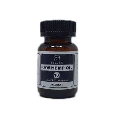 Endoca Raw Hemp Oil 10mg Capsules