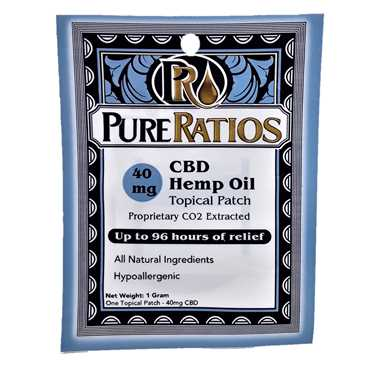 Pure Ratios Patch 40mg