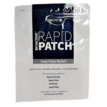 Isodiol Rapid Patch 250mg